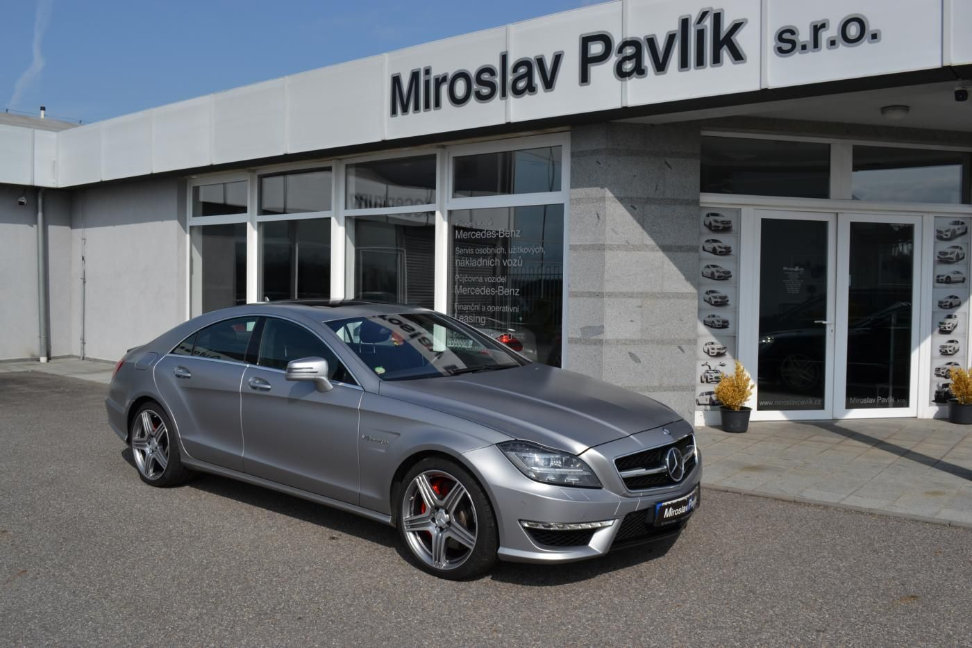 Mercedes-Benz CLS 63 AMG PERFORMANCE