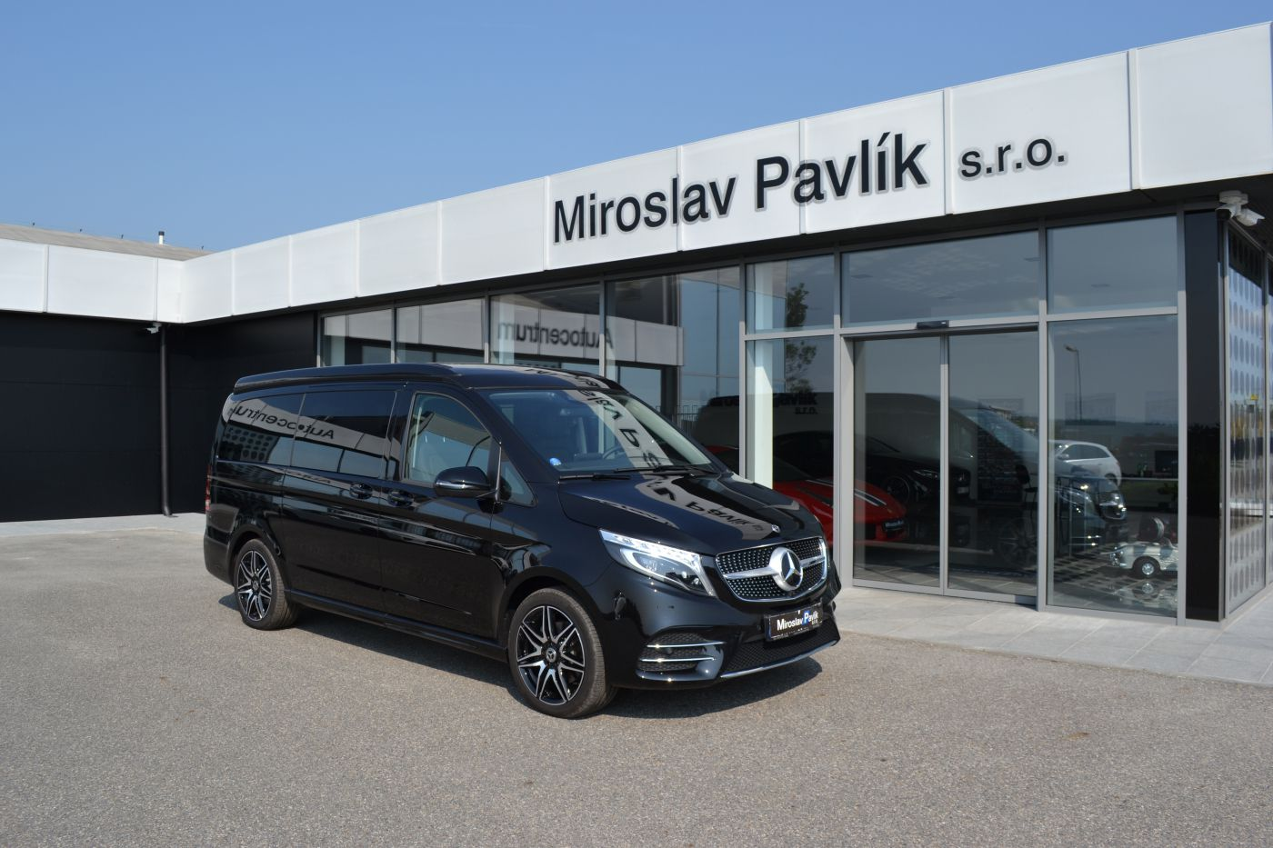 Mercedes-Benz V V300d 4M MARCO POLO HORIZON