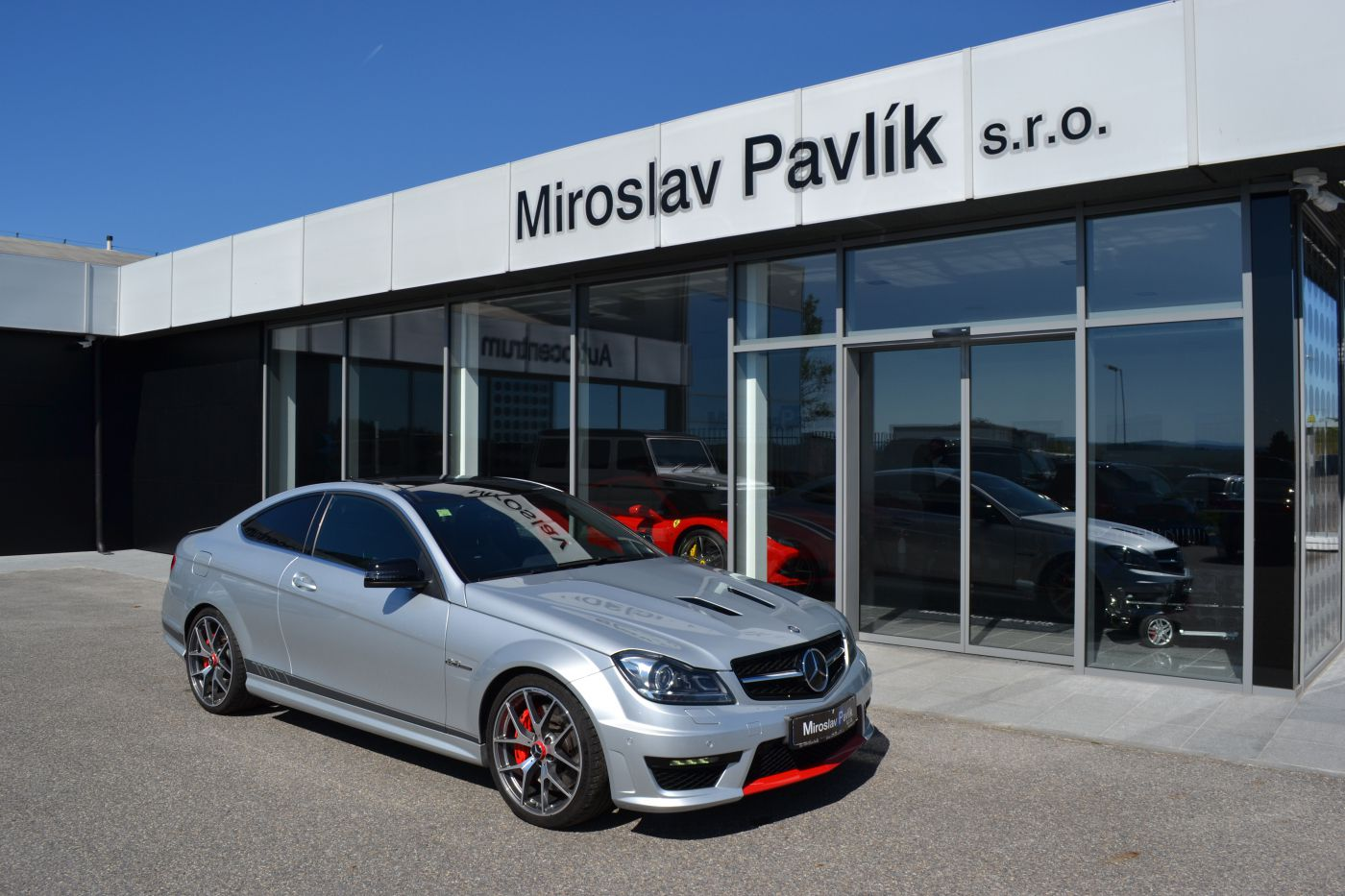 Mercedes-Benz C C63 AMG EDITION 507